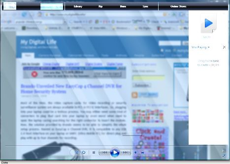 Windows Media Player Transparency Trick