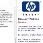 How to Delete and Remove Recovery Partition in HP Computer
