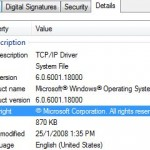 Download Windows Vista tcpip.sys and UAC Auto Patcher to Increase TCP Connection Limit