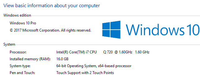Check Windows System Type - 32-bit or 64-bit