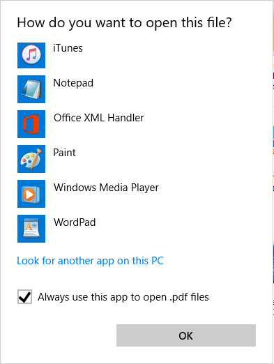 Always Use This App to Open a File Extension