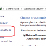 Disable and Prevent Laptop or Notebook from Sleep (Standby) or Hibernate When Closing the Lid