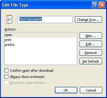 программа unassociate file types скачать бесплатно