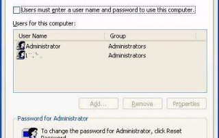 Enable Automatic Login in Windows XP