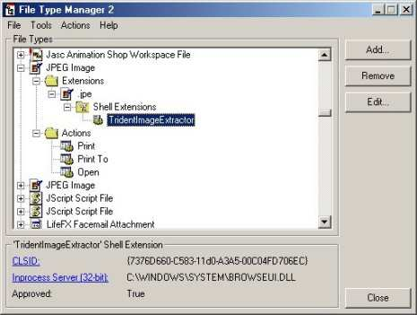 File Type Manager (FTM)
