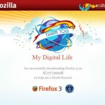 Download and Print Firefox 3 (FF3) Download Day Certificate