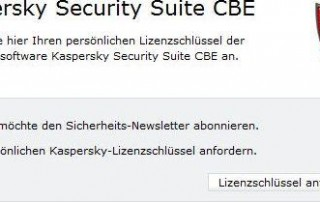 Free License Key for Kaspersky Security Suite CBE