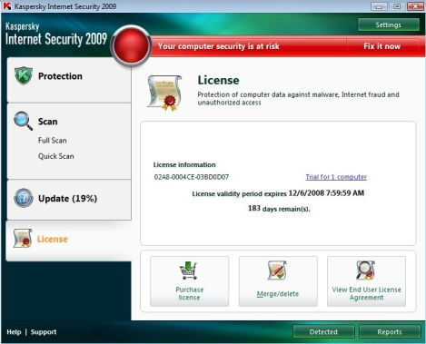 Free Kaspersky Internet Security Serial License Code