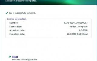 Activate Kaspersky Internet Security 2009 (KIS 2009)