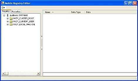 Mobile Registry Editor