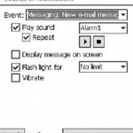 How to Enable Repeat Play Audio Sound Notifications in Windows Mobile
