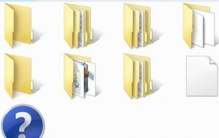 Missing File and Folder Name in Windows Vista