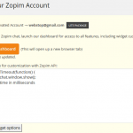 Automatically Pop Out & Expand Zopim Live Chat Window