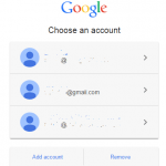 Disable Google Choose an Account Sign In Page