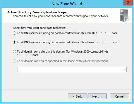 AD Zone Replication Scope