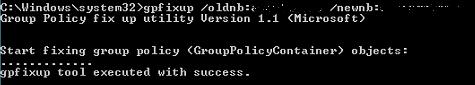 GPFixUp NetBIOS