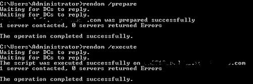 Rendom /Prepare /Execute