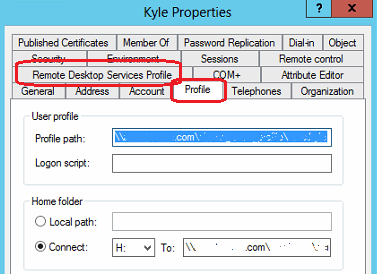 how to change the folder that profile pdf