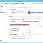 Rename AD Domain Name in Windows Server 2012