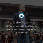 Watch Windows 10 Features Unveiling Event Livestream Webcast