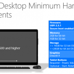Windows 10 System Requirements (for Mobile & Desktop)