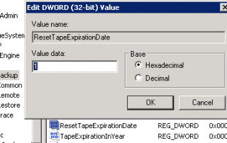 Automatically Extend Expiration Date of Tape