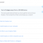 Hack To Get Extra Free Dropbox Space Permanently