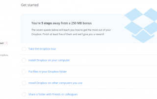 Dropbox Get Started