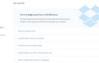 Dropbox Get Started