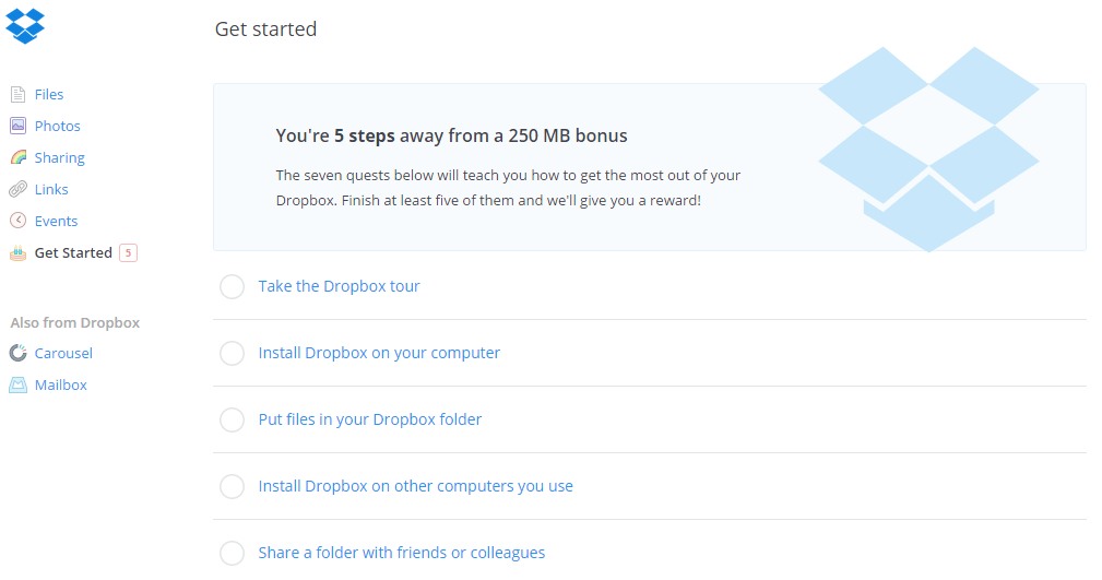 how to get embed code from dropbox