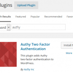 Enable Two-Factor Authentication (2FA) To Secure Self-Hosted WordPress Login with Authy