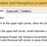 Change & Replace Command Prompt with Windows PowerShell in Power User Menu