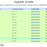 How to Automatically Upgrade Installed Scripts Update on All Virtual Servers