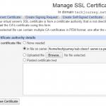 Install Intermediate CA Certificate (Chain Cert) in Apache HTTPD Server