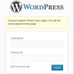 Disable WordPress Session Expired Log In Again Inline Modal Popup