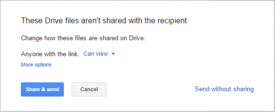 Share Drive Files with Email Recipients