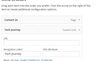 Unclickable Text in WordPress Menu
