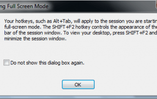how to open application in windowed mode