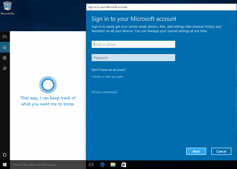 Can i change your voice cortana