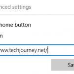 Show or Hide the Home Button in Edge Web Browser