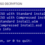 Decrypt & Convert Upgrade ESD to Create Bootable Windows ISO or WIM