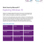 Exploring Windows 10 eBook Free Download to Learn to Use New Features