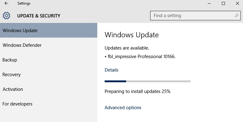 Windows 10 build 10074 iso update official download with product download upgrade to windows 10 build 10166 release ccuart Choice Image