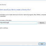 Create Shortcuts to Open Windows 10 Settings Pages with ms-settings URI