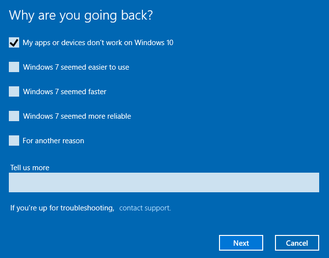 Why Are You Going Back to Previous Windows Version