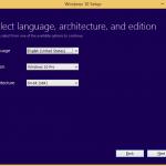 Upgrade to Windows 10 Version 1511 (10586) Installation