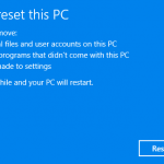 Refresh & Reset Windows 10 to Fresh Clean State Without Manual Reinstall