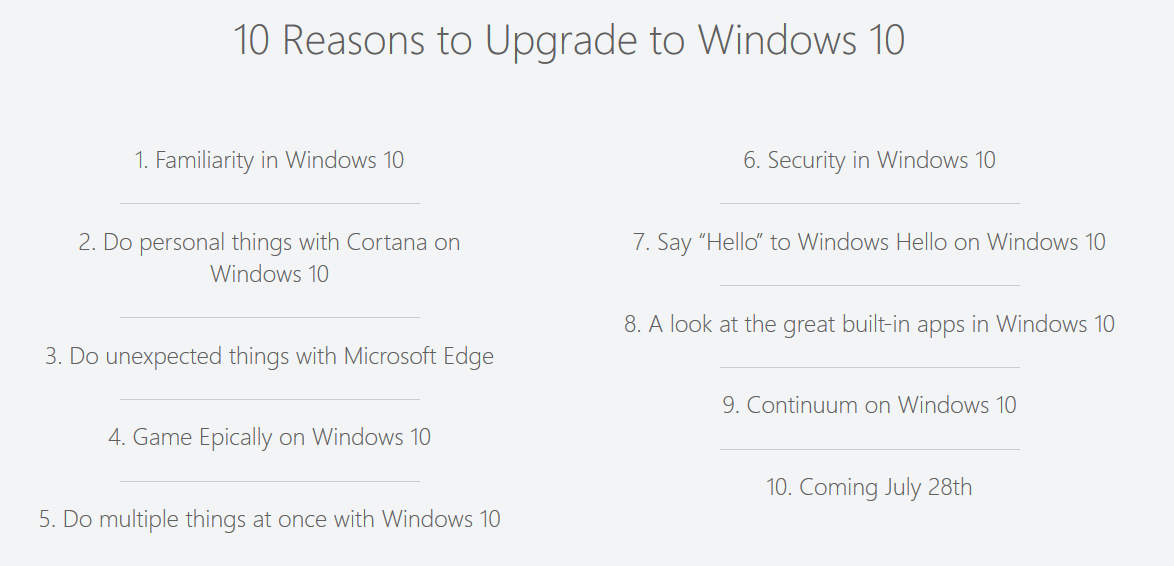 Windows 10 Coming July 28
