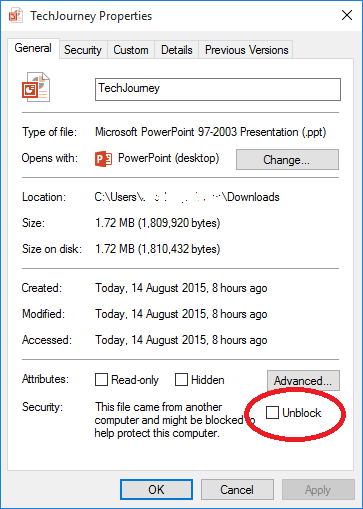Cannot Open PowerPoint Presentations in Windows 10 - Tech Journey