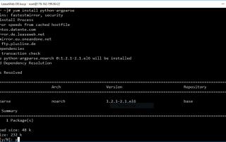 Install Python Argparse